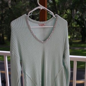 Mint Juicy Couture light sweater (M)